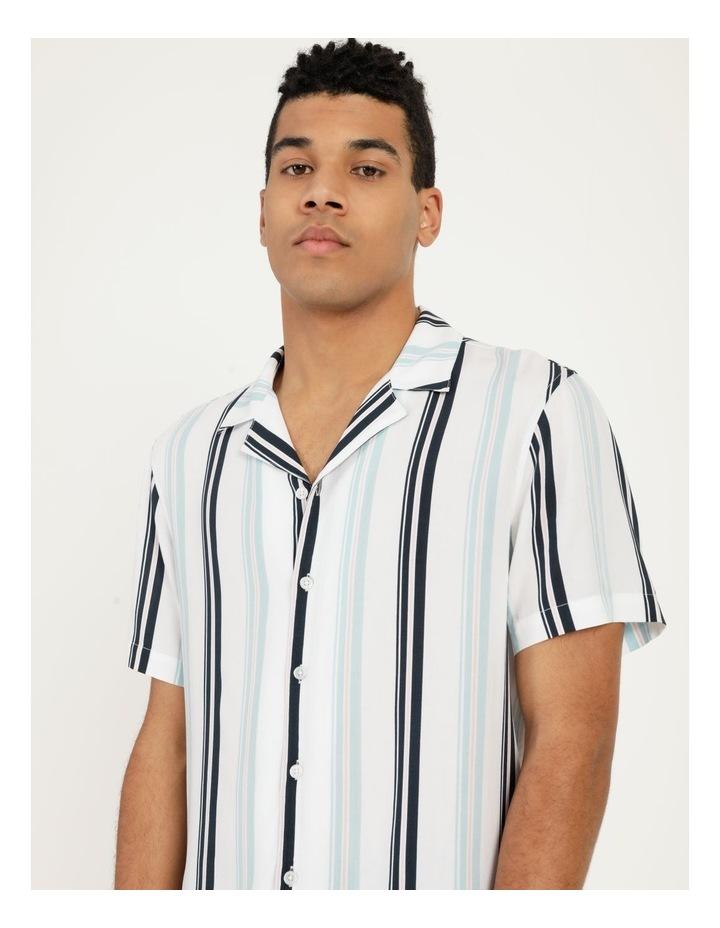 Sassafras Stripe Short Sleeve Rayon Shirt image 2