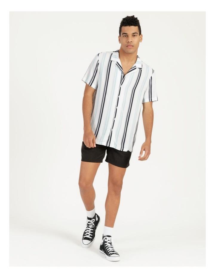 Sassafras Stripe Short Sleeve Rayon Shirt image 5