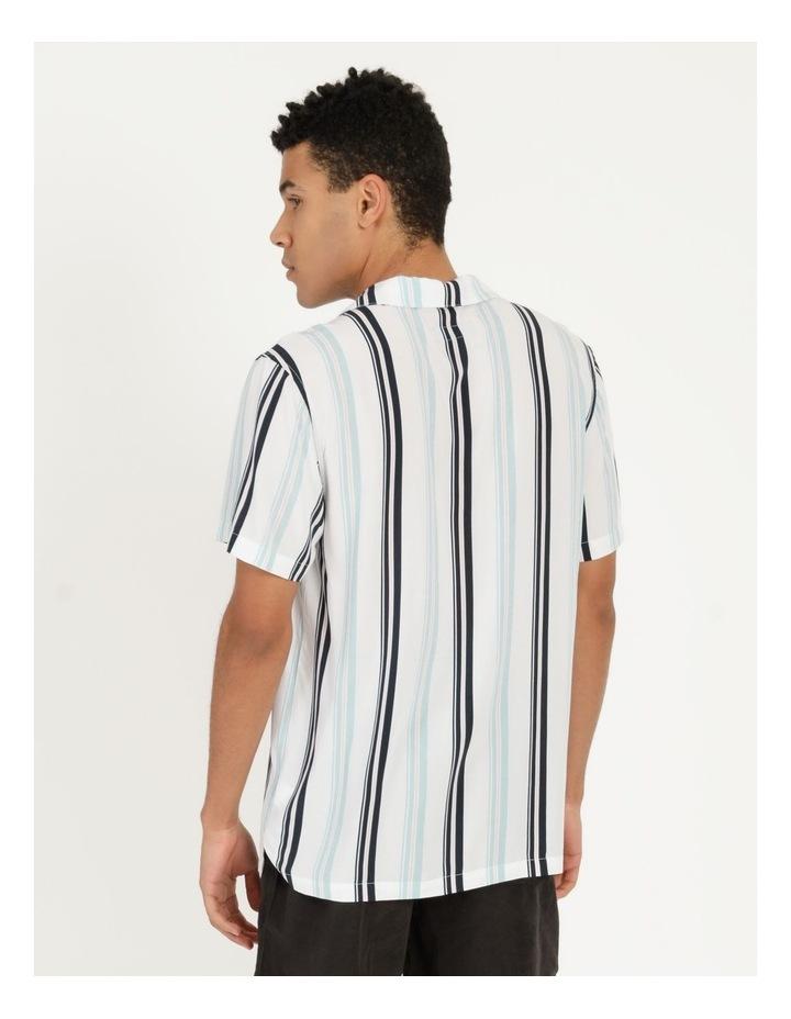 Sassafras Stripe Short Sleeve Rayon Shirt image 6