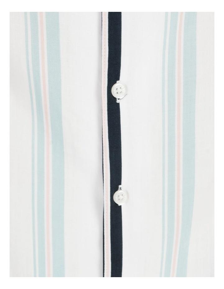 Sassafras Stripe Short Sleeve Rayon Shirt image 7