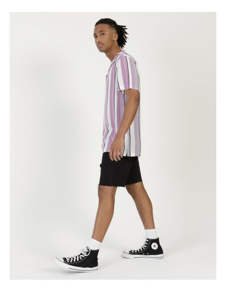 Sizzle Stripe Short Sleeve Rayon Shirt image 2