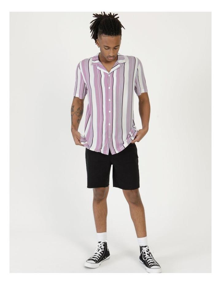 Sizzle Stripe Short Sleeve Rayon Shirt image 3