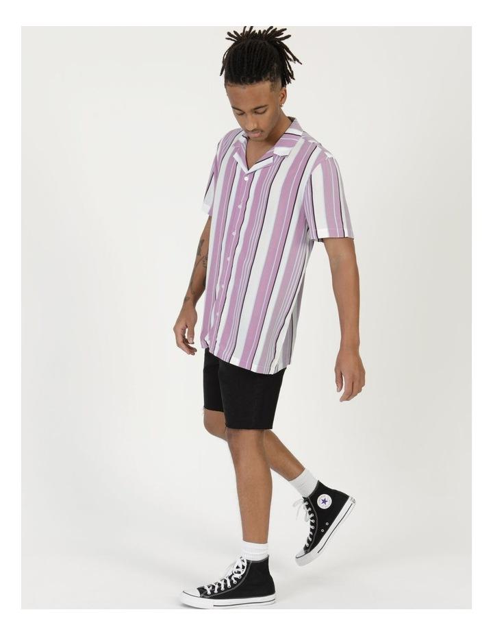 Sizzle Stripe Short Sleeve Rayon Shirt image 4