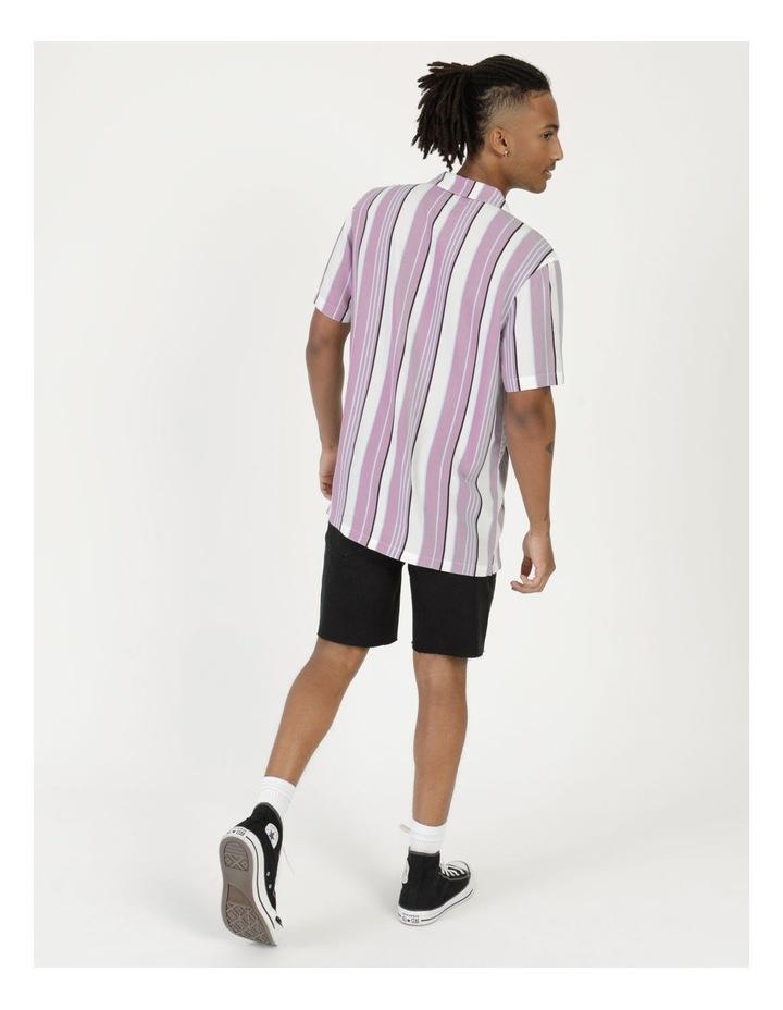 Sizzle Stripe Short Sleeve Rayon Shirt image 5