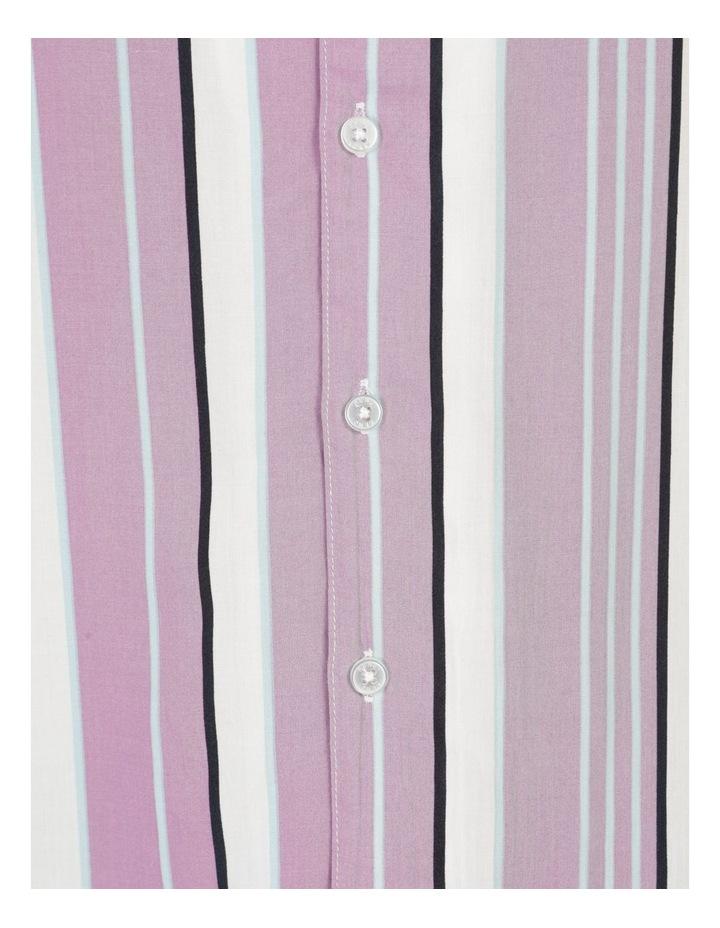 Sizzle Stripe Short Sleeve Rayon Shirt image 7