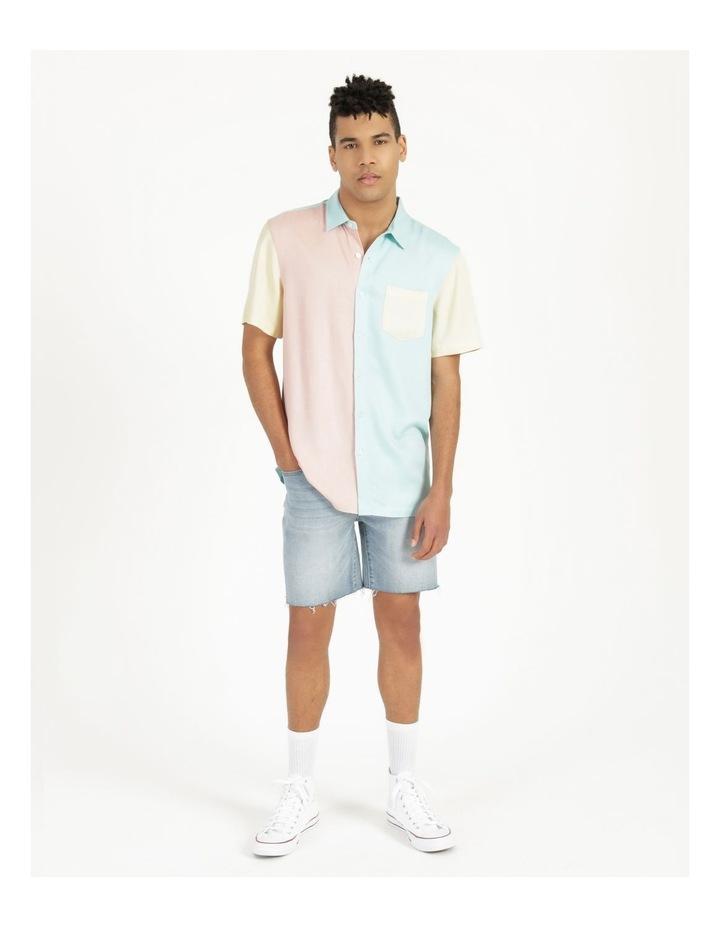 Crikey Colour Block Short Sleeve Rayon Shirt image 2