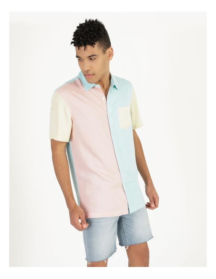 Crikey Colour Block Short Sleeve Rayon Shirt image 3