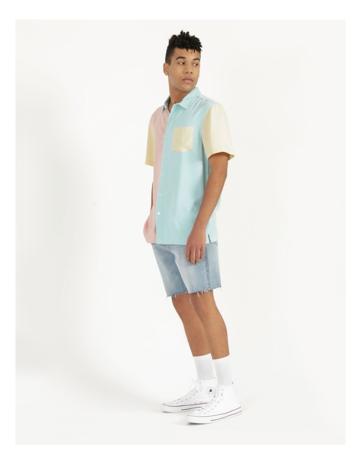Crikey Colour Block Short Sleeve Rayon Shirt image 4