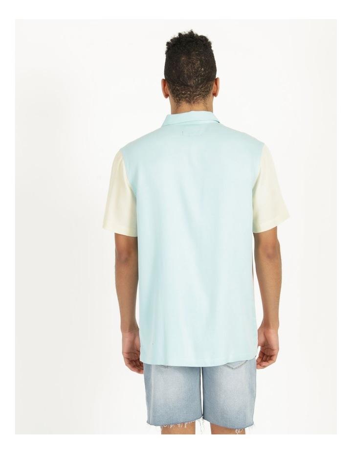 Crikey Colour Block Short Sleeve Rayon Shirt image 5