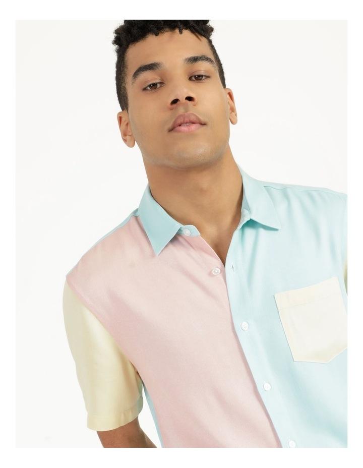 Crikey Colour Block Short Sleeve Rayon Shirt image 6