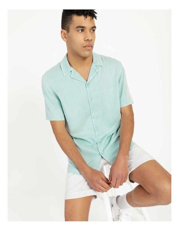 Hooroo Heavy Pigment Short Sleeve Rayon Shirt image 3