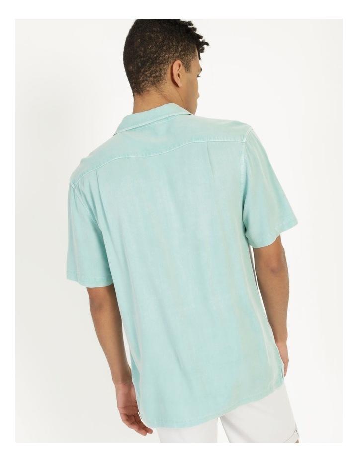 Hooroo Heavy Pigment Short Sleeve Rayon Shirt image 5