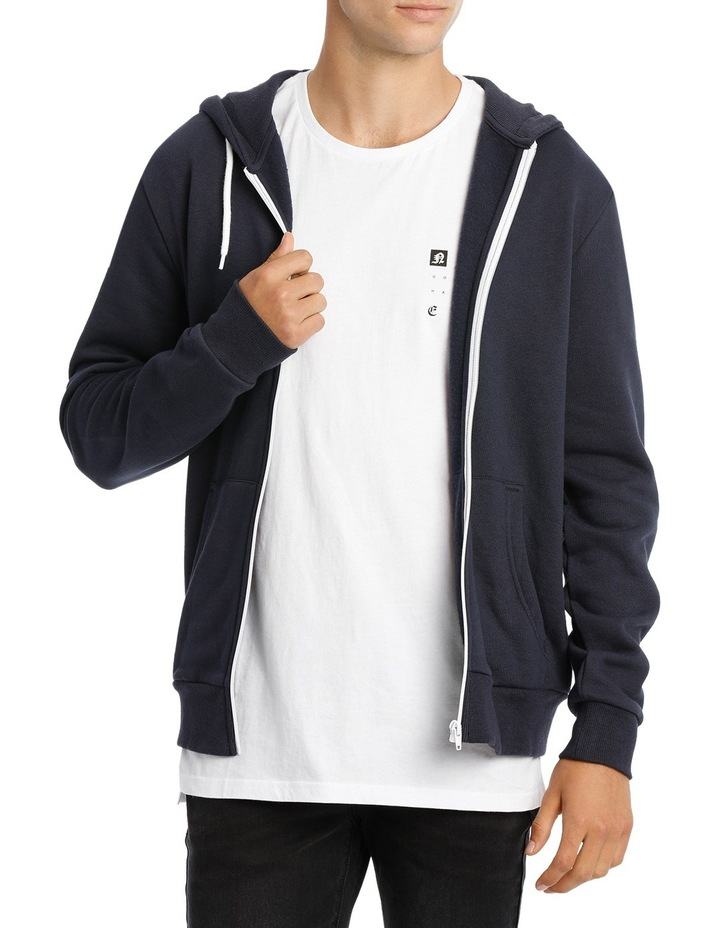 Hyper Zip Through Hoodie image 1