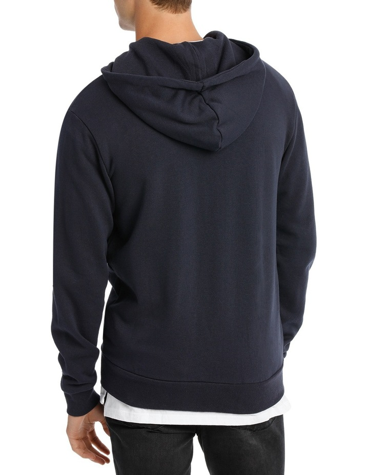 Hyper Zip Through Hoodie image 3