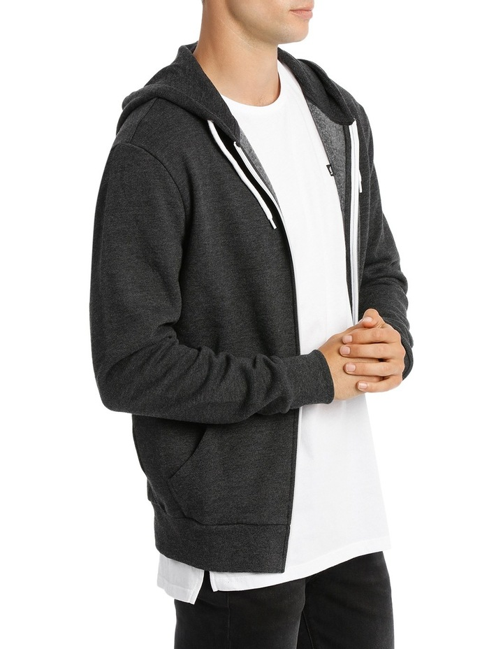 Hyper Zip Through Hoodie image 2