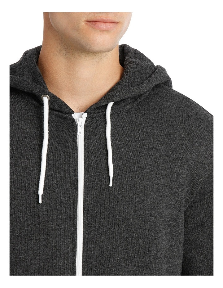 Hyper Zip Through Hoodie image 4