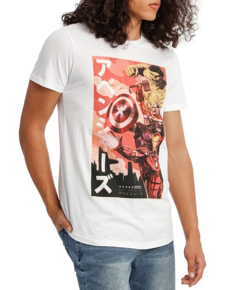Avengers Vintage Poster Tee image 2