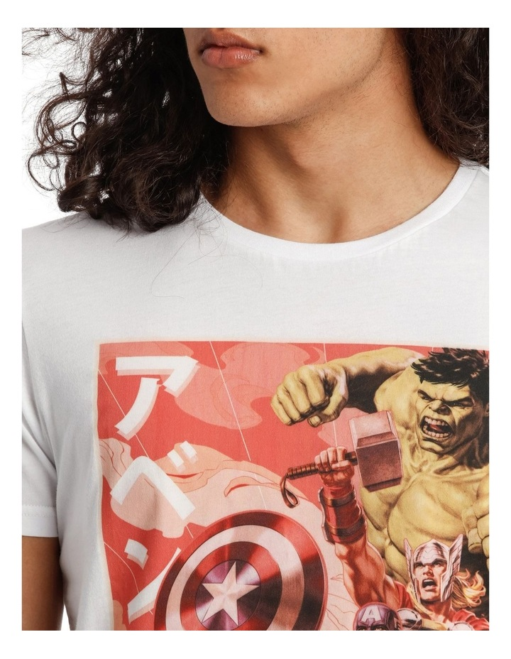 Avengers Vintage Poster Tee image 4