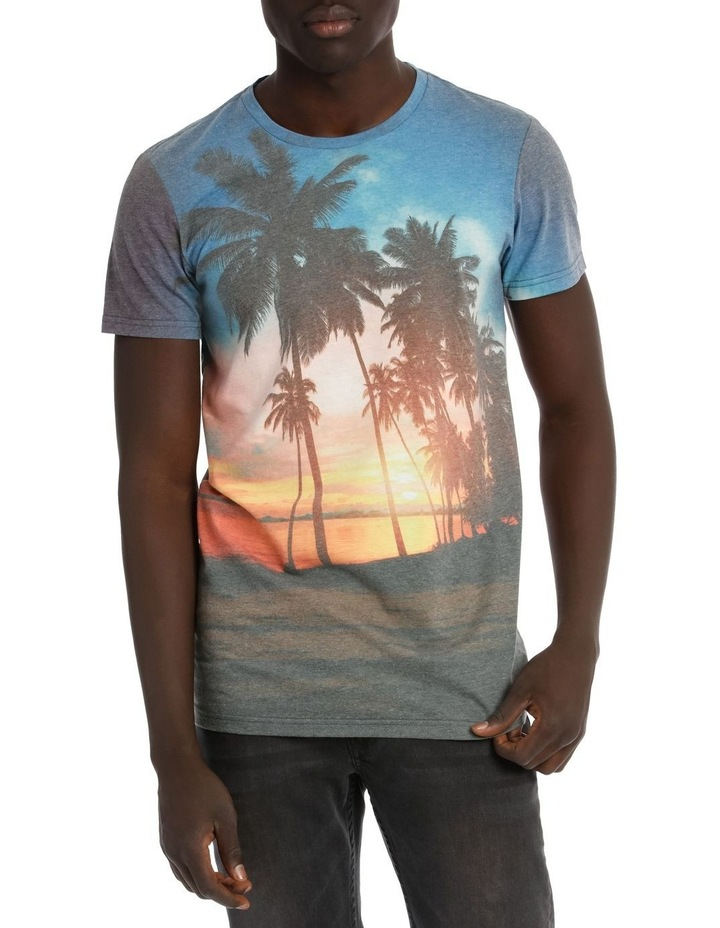 Tropical Sunset Shortsleeve Tee image 1