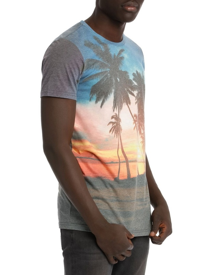 Tropical Sunset Shortsleeve Tee image 2