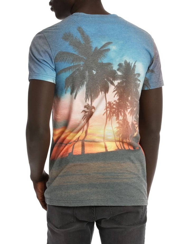 Tropical Sunset Shortsleeve Tee image 3
