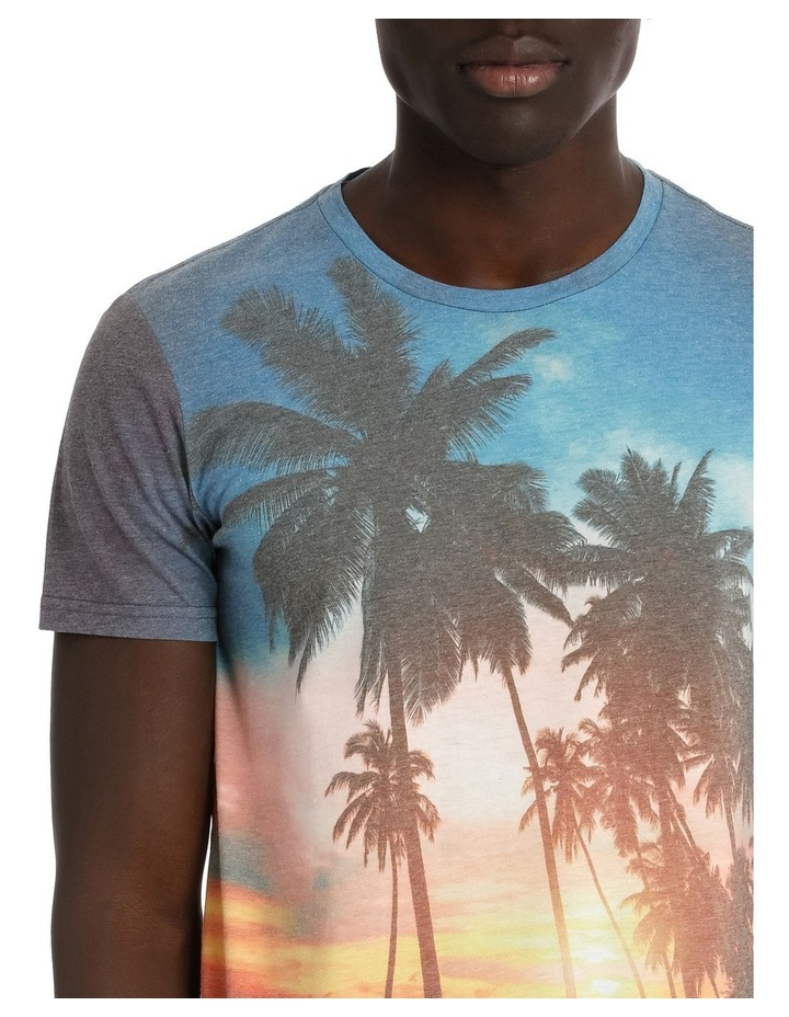 Tropical Sunset Shortsleeve Tee image 4