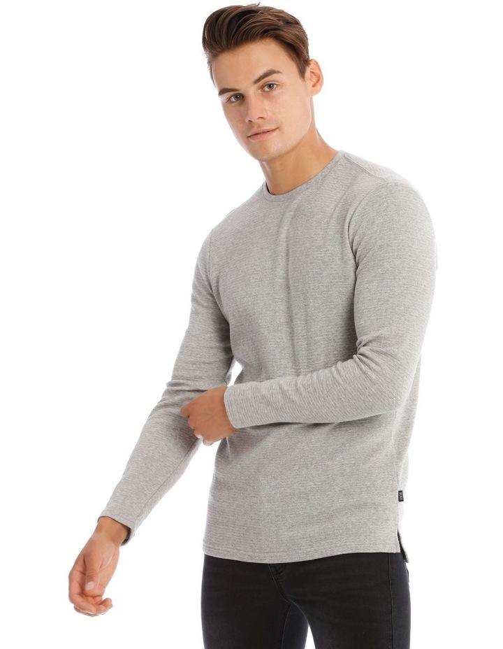Logan Long Sleeve Rib Tee image 1