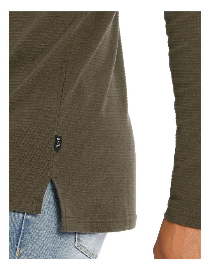 Logan Long Sleeve Rib Tee image 4