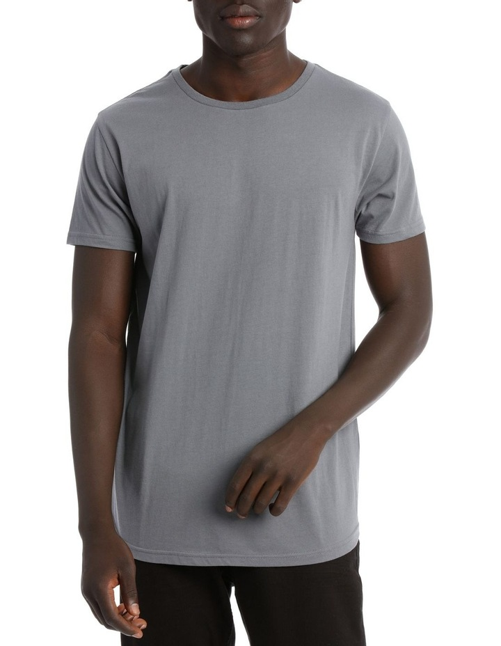 HADSPEN DROP SHOULDER CURVED TEE image 1
