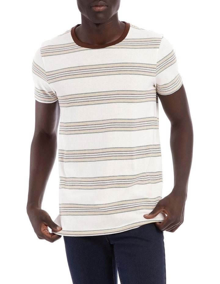 Likoma Short Sleeve Stripe Tee image 1