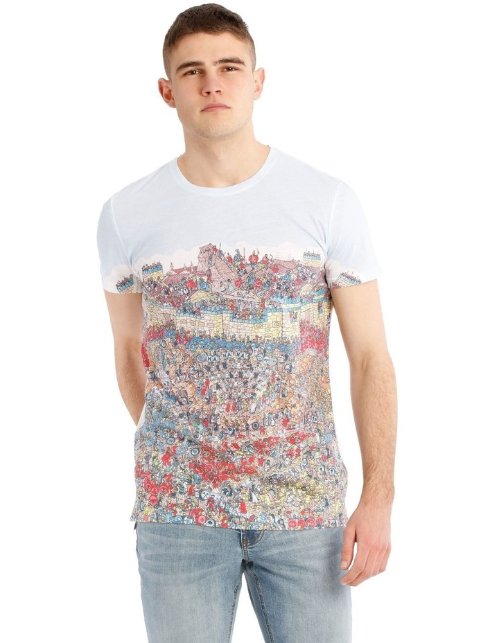 Where's Wally Horseplay in Troy Tee image 1