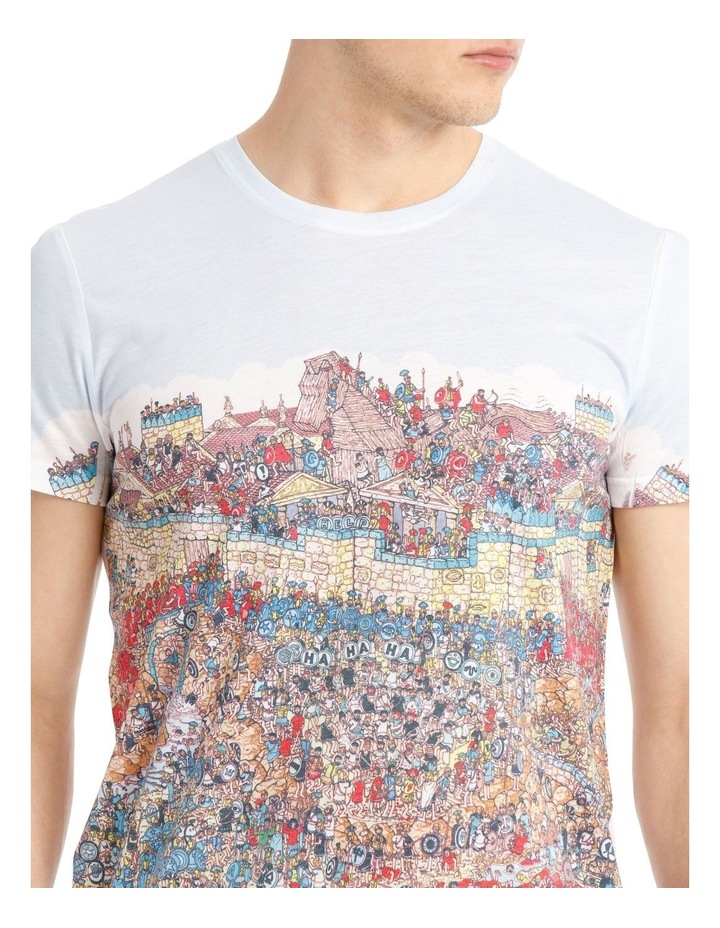 Where's Wally Horseplay in Troy Tee image 4