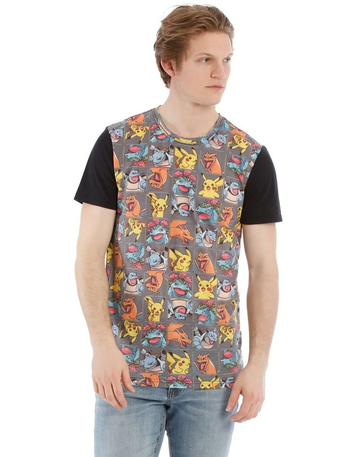 Pokemon Character Tiles Tee image 1