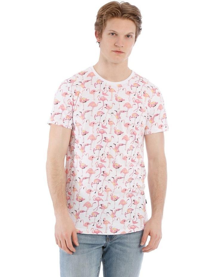 Funky Flamingo Short Sleeve Tee image 1