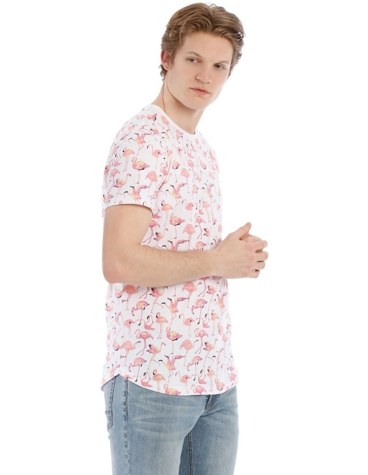 Funky Flamingo Short Sleeve Tee image 2