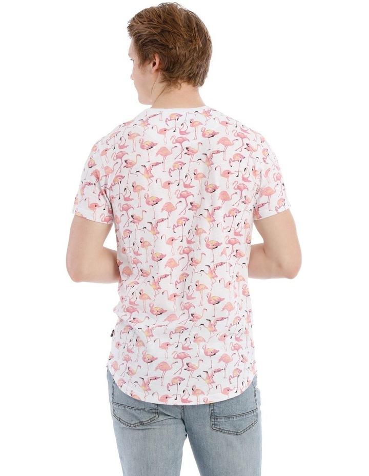Funky Flamingo Short Sleeve Tee image 3