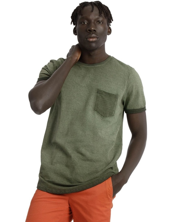 Maverick Short Sleeve Stripe Tee image 1