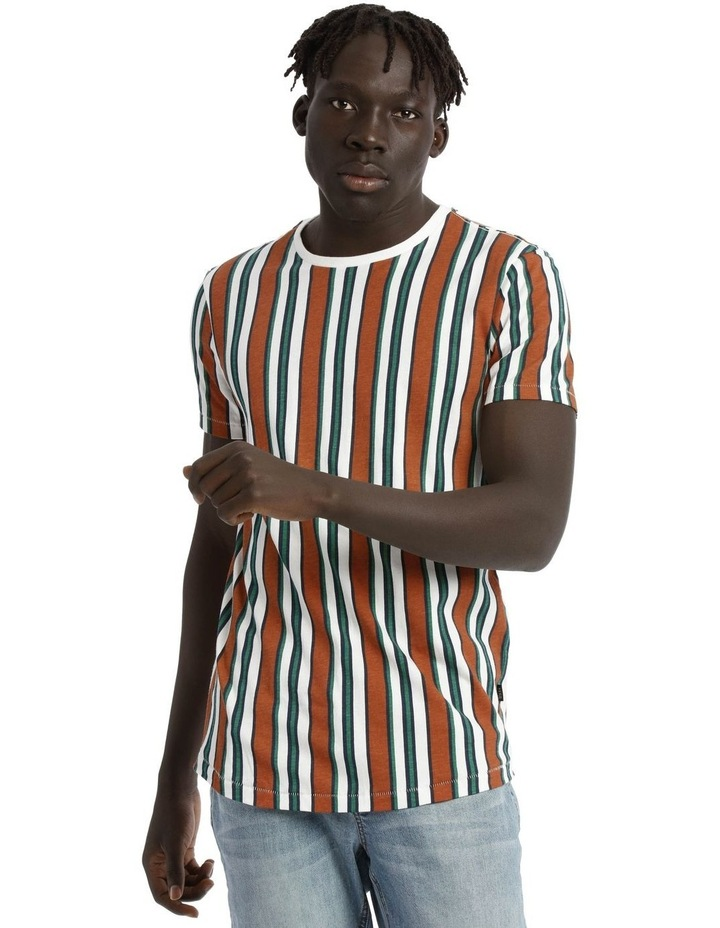 Coachella Short Sleeve Stripe Tee image 1