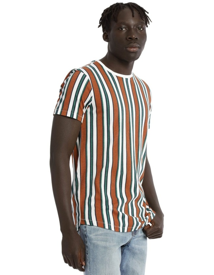 Coachella Short Sleeve Stripe Tee image 2