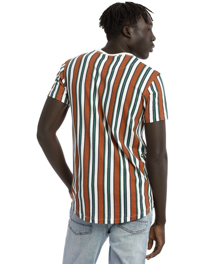 Coachella Short Sleeve Stripe Tee image 3