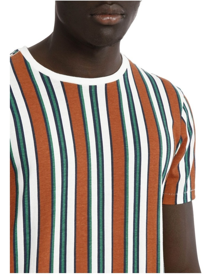 Coachella Short Sleeve Stripe Tee image 4