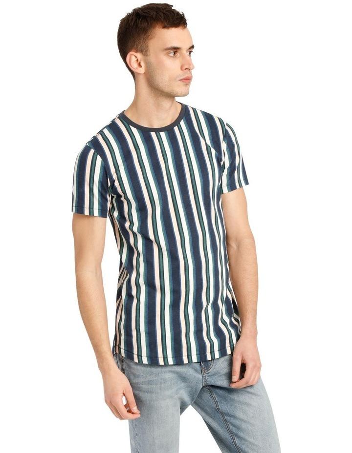 Coachella Short Sleeve Stripe Tee image 2