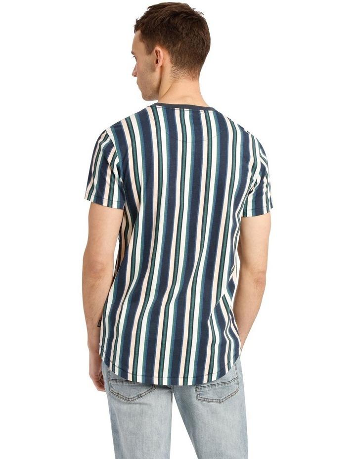 Coachella Short Sleeve Stripe Tee image 3