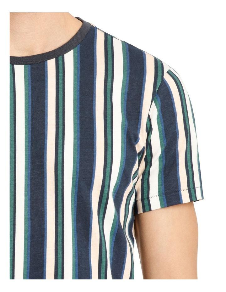Coachella Short Sleeve Stripe Tee image 4