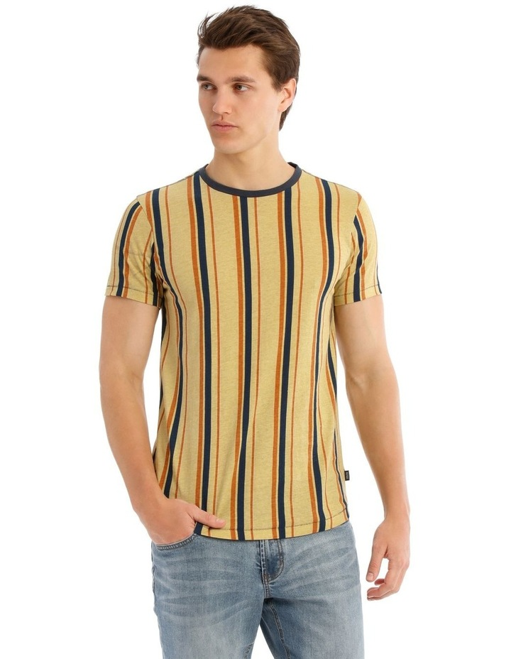 Golden Plains Short Sleeve Stripe Tee image 1