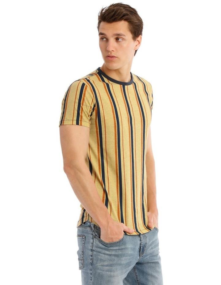 Golden Plains Short Sleeve Stripe Tee image 2
