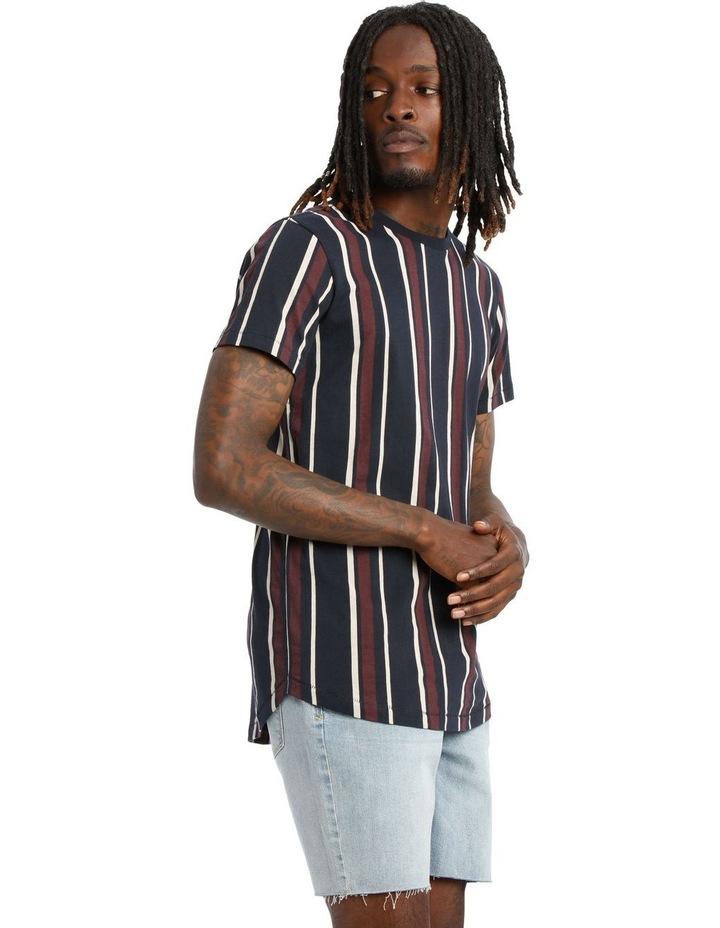 Laneway Short Sleeve Stripe Tee image 2