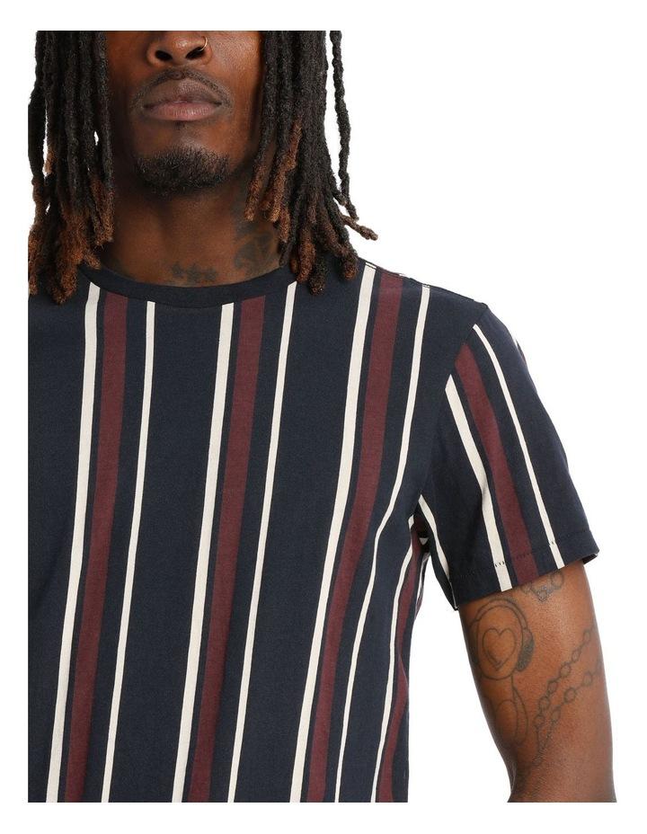 Laneway Short Sleeve Stripe Tee image 4