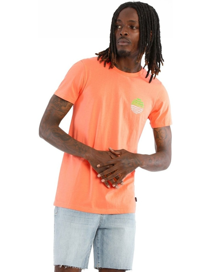 Ultra Neon Placement Print Tee image 1