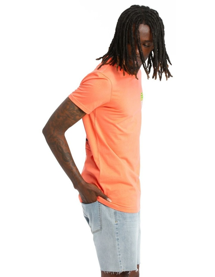 Ultra Neon Placement Print Tee image 2